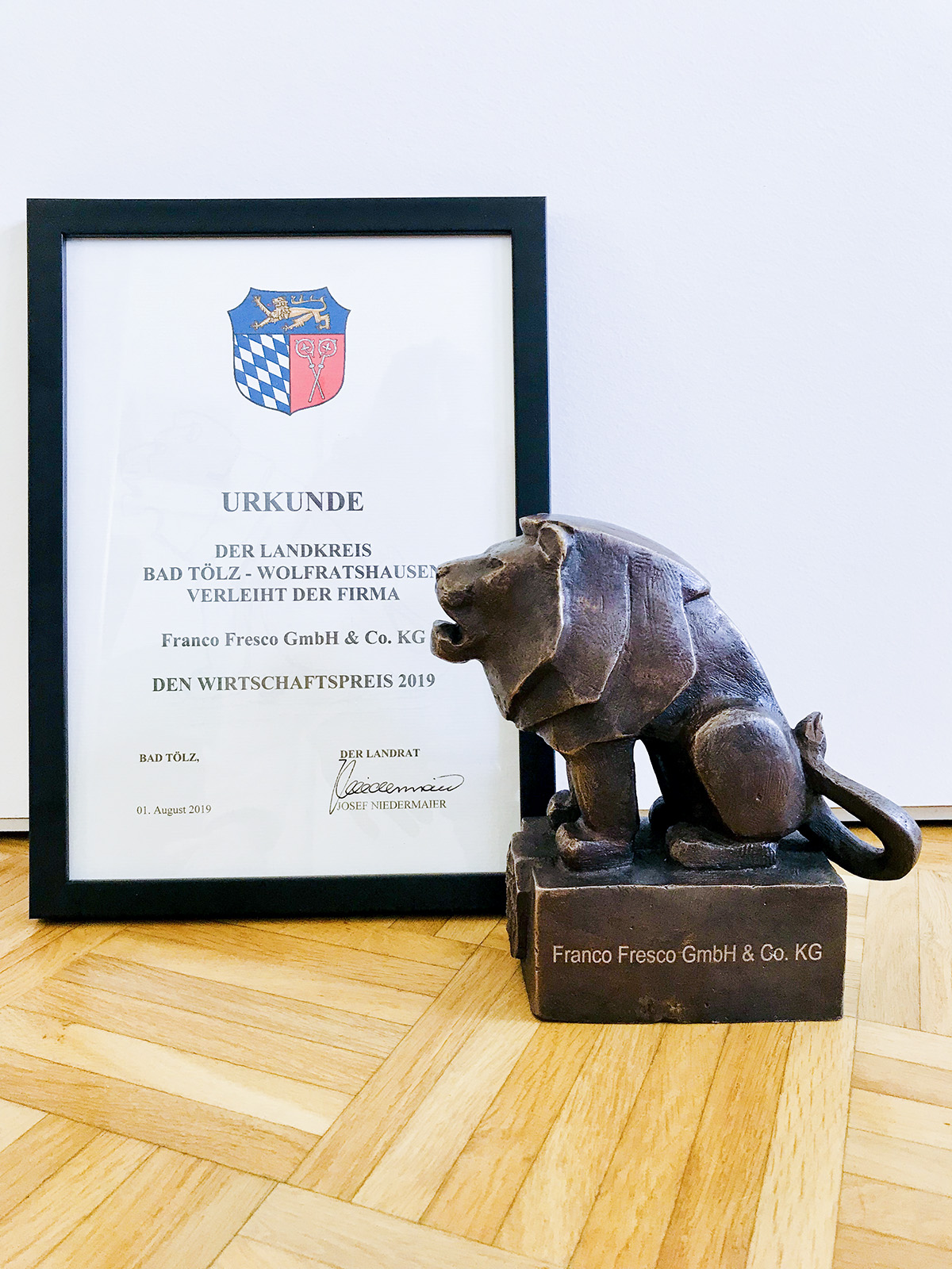 Gustavo Gusto Wirtschaftspreis 2019